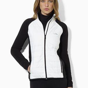 Lauren Ralph Lauren Athletic Fleece Puffer Jacket